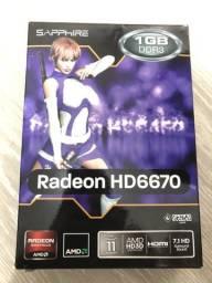 Placa de Video HD6670