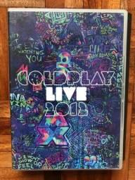 DVD com CD de aúdio Cold Play