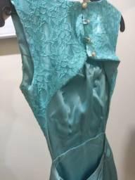 Vestido de Festa / formatura seda