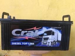 Bateria 150 amperes - caminhão - som automotivo