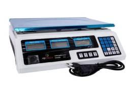 Balança Digital 40kg Completa Bateria Interna Visor Nova Com Garantia de 3 Meses AC/CARTÃO