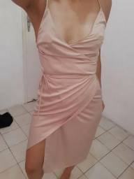 Vestido nude - FARM