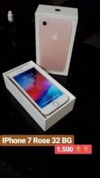 """IPhone 7 rose """"Leia a descrição"""""""