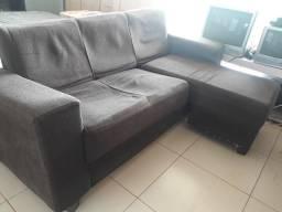 Sofá usado bem conservado