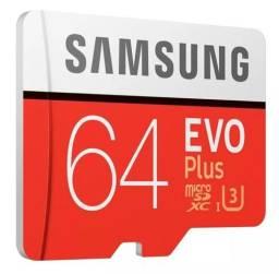 Micro SDXC SAMSUNG EVO PLUS 64gb C10 U3 100mb/s