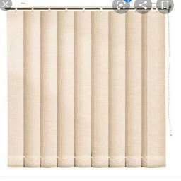 Promoção de cortinas e persianas vertical e horizontal.