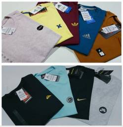 Sacoleiras - 10 Camisetas DeLuxo Malha Premium Marcas Famosas