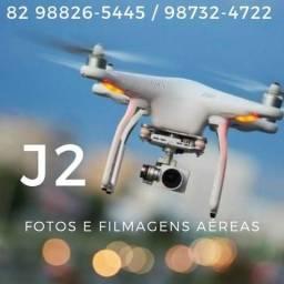 J2 Drones FOTOS e FILMAGENS em 4K pro