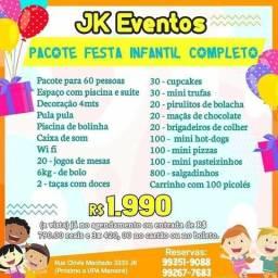 Pacote Festa Infantil