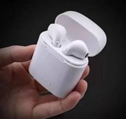 Fone de Ouvido EarPods I7s Bluetooth Reprodução de Músicas