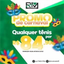 Promoção de tênis (carnaval)