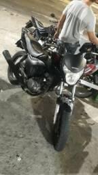 Vendo moto só com o dut quitada - 2010