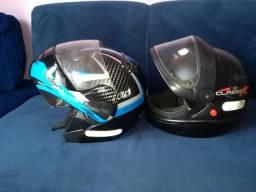 Vendo esse dois capacetes