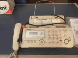 Telefone -Fax de papel plano- Panasonic KX-FP207-usado