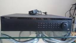Vendo DVR analógico 16 canais, 4 câmeras, fonte chaveada 12v, 10A. R$ 250 Tem conversa!