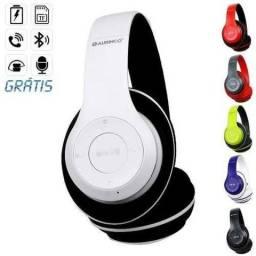 Fone De Ouvido Wireless Bluetooth Dobrável
