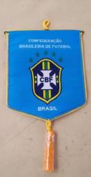 Flâmula da seleção brasileira de futebol oficial