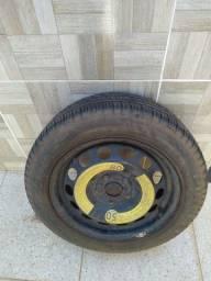 Vendo roda completa do Jetta , pneu aro 16 novo