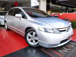 Honda Civic LXS 1.8 Aut. 2007 Imperdivel Financia 100%
