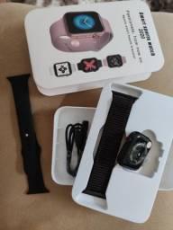 Smartwatch Iwo 13 i7s serie 5 bluetooth 44mm preto