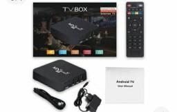 Transforme sua tv ? normal em smart com MX9 TV Box