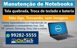Título do anúncio: Assistência Técnica Conserto de Notebook