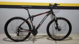 Bicicleta aro 29 24v shimano altus freio hidráulico
