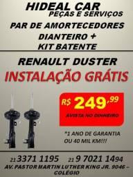 Amortecedores dianteiro do Renault Duster instalação grátis com kit parcial