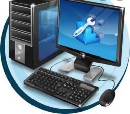 Manutenção e formatação de computadores