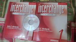 Livro iniciante de inglês com CD.