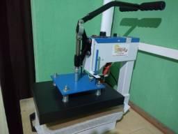 Máquina de estampa, máquina para fazer sandália com bancada, fresa/tira.