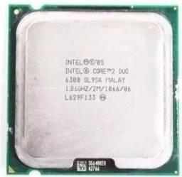 Processador Intel Core 2 Duo E6300 2mb+cooler  . 45.00