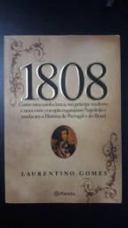 """Livro """"1808"""" com apenas 1 leitura!!"""