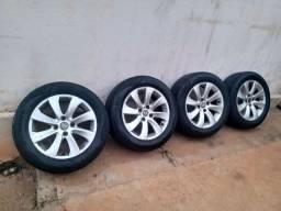 Rodas 4x108 Citroen com pneus