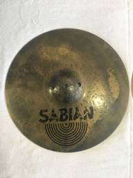 "Título do anúncio: Chimbal Sabian HH Fusion 14"""