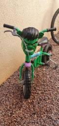 Título do anúncio: Bicicleta Infantil do Hulk