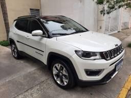 Título do anúncio: Jeep compass limited 2018 impecável leia anúncio