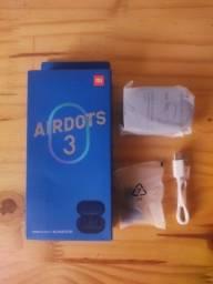 Título do anúncio: Fone De Ouvido Bluetooth Airdots 3 Original Azul