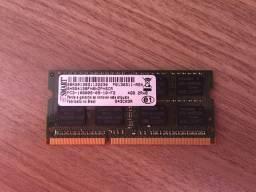 Memória DDR3 SMART (Notebook)