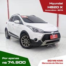 Título do anúncio: Hyundai HB20 X 1.6 16V PREMIUM AUTOMATICO