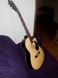 Vendo ou troco violão elétrico top