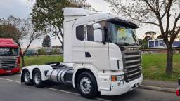 Título do anúncio: Scania G 380 6x2 Trucado 2009 bonito Defletor ar condicionado