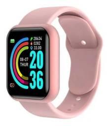 Título do anúncio: Smartwatch Y68 D20 Macaron