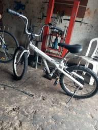 Bike aro 20 com marcha