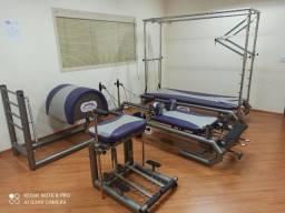 Estúdio de Pilates Completo em Aço Inox Marca New Pilates