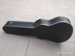 Case antigo para guitarra