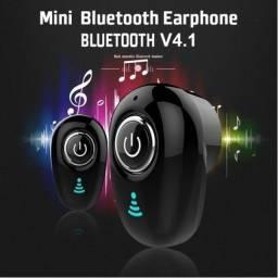 Mini fone de ouvido Bluetooth.