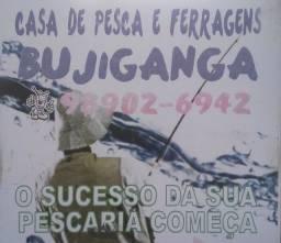 Título do anúncio: Bujiganga casa de pesca e ferragens