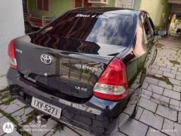 Título do anúncio: Toyota Etios impecável com gnv