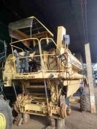Colheitadeira New Holland TC57 Arrozeira ano 1998.